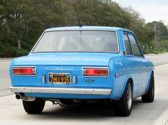 1969 Datsun 510 Bluebird Deluxe Rear