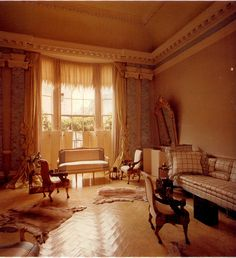 Another view of Pauline de Rothschild's London apartment