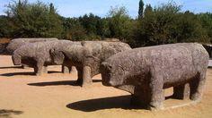 Toros de Guisando - Grupo escultórico vetón ( prerrománicos de cultura celta) - El Tiemblo (Ávila)