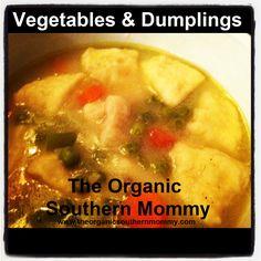 Vegetables and Dumplings