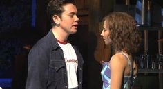 Ray as Billy Kostecki,with Hannah Vasallo as Baby