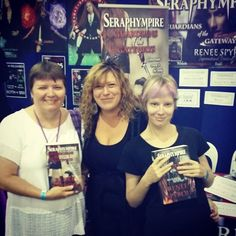 A big thank you goes out to all the people who purchased my #Seraphympire #novels @ the #Brisbane #Supanova2016 last weekend. This is why I #love #BookSigning events, because meeting & talking to new people makes what I do all the more special. Thank you again, I hope you enjoy reading my books. 😆❤ 📖📚