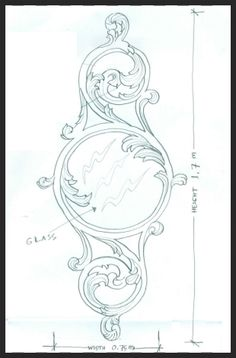Wood Carving Designs, Wood Carving Patterns, Motif Arabesque, Ornament Drawing, Leather Pattern, Hand Engraving, Pattern Art, Leather Craft, Embroidery Patterns