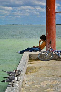 """""""Daydream"""" ~ Sisal, Mexico   © 2014 Skip Hunt   skiphuntphoto.com + skiphunt.carbonmade.com + kaleidoscopeofcolor.com"""