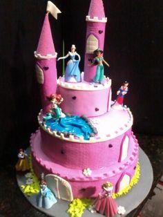 #castillo#princesas#disney#castle#princess#cake#fondant#pastel