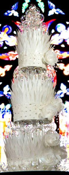 Crystal Palace Wedding Cake
