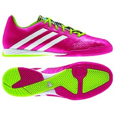 Adidas Predator Absolado Samba Pack LZ Indoor Soccer Shoes: http://www.soccerevolution.com/store/products/ADI_13113_F.php