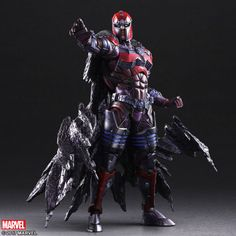 The Square Enix Play Arts Kai Magneto Figure Has One Hell Of A Cape