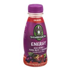 I'm learning all about Sambazon Energy Acai Berry Verba Mate Guarana Superfood Juice Blend at @Influenster!