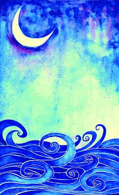 Strange Waters [2011]  Watercolor