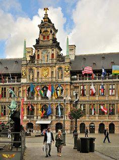 City Hall, Antwerp, Belgium