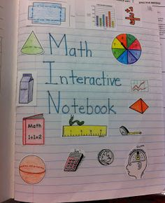 Interactive Math Notebook- great ideas for foldables and notes