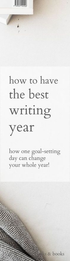 Make 2018 the year you finally crush those writing goals! With just this one resolution, you'll see a huge difference in your motivation--no more procrastinating, and much more writing and publishing!