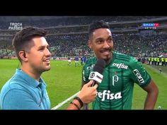 Antonio Carlos fala do gol e da vitória do Palmeiras   Roger anuncia a m...