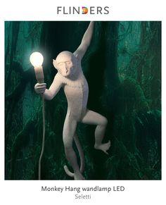 Ontdek dit product dat ik heb gevonden in de Flinders app:  Monkey Hang wandlamp LED http://www.flinders.nl/seletti-monkey-hang-wandlamp-led