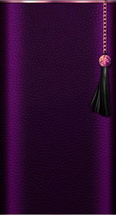 Android Wallpaper - Purple with Black Tassle Wallpaper Gothic Wallpaper, Bling Wallpaper, Flowery Wallpaper, Luxury Wallpaper, Mobile Wallpaper, Iphone Wallpaper Violet, Android Wallpaper Black, Cellphone Wallpaper, Purple Backgrounds
