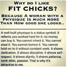 Fit women(great reminder!)