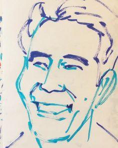 いいね!10件、コメント1件 ― @1mindrawのInstagramアカウント: 「#1mindraw #yoshikawaeiji #吉川英治 #novelist #小説家 #宮本武蔵 #三国志 #18920811 #birthday #誕生日 #portrait #筆ペン画」
