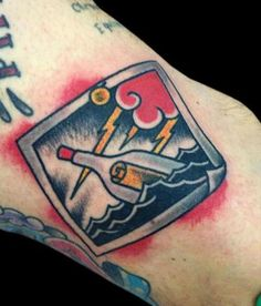 tattoo old school / traditional ink - message in a bottle