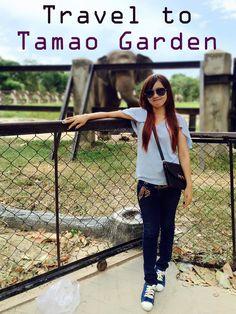 @annesquin ,  visit Tamao garden so happy,  Cambodia