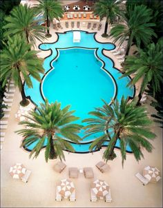 The Raleigh Hotel Pool, South Beach, Florida