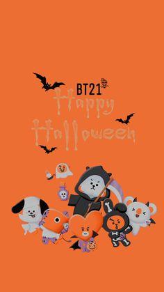 Bts Wallpaper, Wallpaper Backgrounds, Fall Wallpaper, Wallpapers, Bts Halloween, Halloween Ideas, Halloween Cookies, Happy Halloween, Bt 21