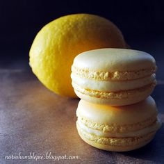 Lemon Marscapone Macaroons - plus really good tips on making macaroons    (notsohumblepie.blogspot.com)