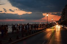 Promenade Thessaloniki | by Kyriakos11 Thessaloniki, Macedonia, Places To Visit, Explore, Country, World, Irene, City, Travel Guide