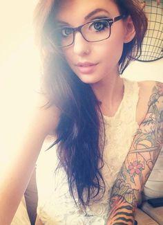 samurai sleeve #tattoo #ink #inked I totally want these glasses