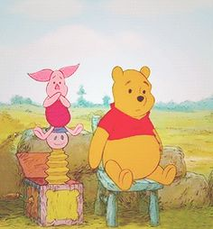 """""""If everybody were like everybody else, how boring it would be. The things that make me different are the things that make me, me!"""" Piglet and Eeyore (to Pooh)"""