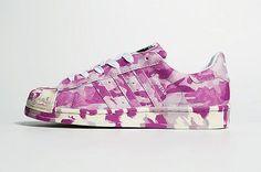 Adidas Superstar Pink Runing Shoe