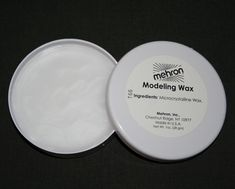Modeling Wax Mehron soft theatrical face eyebrow blocker compound clear TV fx  #Mehron #Makeup This Special Effects Makeup Modeling Wax is used throughout the entertainment industry for smoothing the edges on prosthetic pieces, building up facial areas such as a wart, scar. And modeling wax can also be used for blocking out eyebrows.