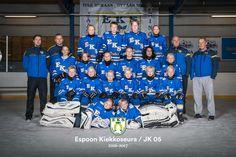 Tackla hockey jerseys. Blues EKS-05, juniorikiekko