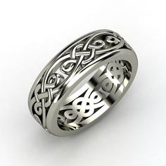 The Alhambra Band #customizable #jewelry #gold #ring