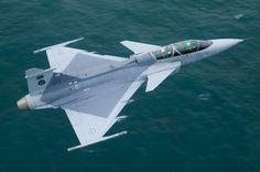 Swedish Saab Gripen Fighter