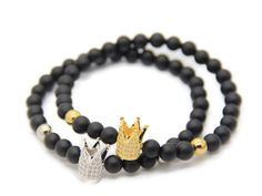 Crown Bracelet (4 colors)