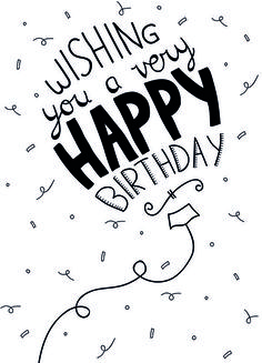 Best Birthday Quotes : Wishing you a ver happy birthday - Quotes Boxes Very Happy Birthday, Happy Birthday Images, Happy Birthday Greetings, Birthday Pictures, Birthday Messages, Special Birthday, Happy Birthday Writing, 20th Birthday, Diy Birthday