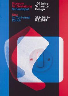 Museum für Gestaltung Schaudepot - Neu im Toni-Areal Zürich - 100 Jahre Schweizer Design-Plakat