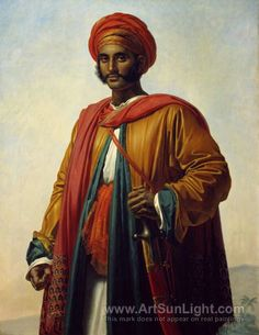 Portrait of an Indian by Anne Louis Girodet.