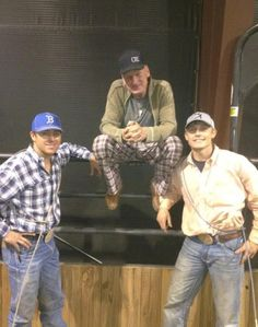 Trevor Brazile, Roy Cooper, and of course Mr Tuf Cooper! A true family of champions!