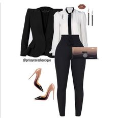 Office Fashion, Work Fashion, Fashion Outfits, Womens Fashion, Business Chic, Business Fashion, Classy Outfits, Stylish Outfits, Looks Style
