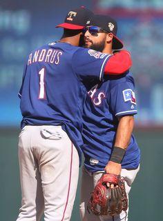 Texas Rangers: PHOTOS: Rougned Odor's homer gives Rangers a win heading into the All-Star break Best Baseball Player, Better Baseball, Baseball Games, Rougned Odor, Minnesota Twins, Texas Rangers, All Star, Stars, Photos