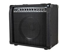 40-Watt, 1x10 Guitar Combo #Amplifier with Spring Reverb - This guitar amp employs a 40-watt amplifier driving a 10-inch, 4-ohm speaker. It features a genuine spring-reverb, which allows you to capture the classic surf sound made famous by such artists as Dick Dale, the Beach Boys, the Ventures, and Man or Astro-man? The spring reverb is also useful for production of electronic music, lounge, or anything where you want to produce dark, dripping overtones to your sound.