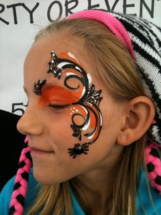 DIY Face Paint #DIY #Halloween #HalloweenCostumes #Costumes #FacePaint #Party #Parties #Birthdays #Birthday