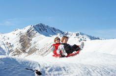 Luge à la Station de Ski Superbagnères - Luchon - Par CRT Midi-Pyrénées / Dominique VIET #TourismeMidiPy #MidiPyrenees #france #tourism #holiday #vacation #travel #ski #snow #neige #skiresort