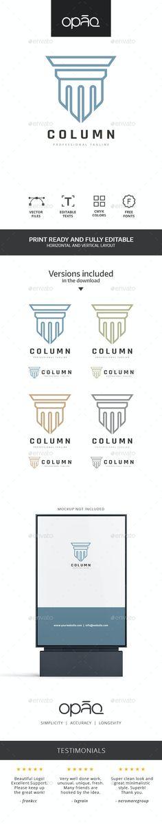 Artistic Column Monument Logo - Objects Logo Templates Get it now!! #logo #designlogo #logos #logodesign #logopremium #brand #branding #business #company #abstract #creative #mascot #designoflogo #thelogo #thedesign #logotemplate #print #logocompany #logoesport #logoanimal #logoabstract #envato #envatomarket #graphicriver #premiumdesign #creativemarket #freepik #shutterstock #behance #dribbble