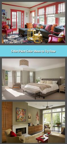 Narrowing down paint color ideas can be tricky. After all, there are literally hundreds of options to choose from — and that's just if you decide to sti Types Of Blue, Calming Colors, Your Perfect, Formal Living Rooms, Mudroom, Color Trends, Your Space, Living Area, Interior And Exterior
