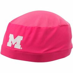 00b671ee994 adidas Michigan Wolverines Pink Breast Cancer Awareness Compression Skully  Price   13.95 U Of M Football