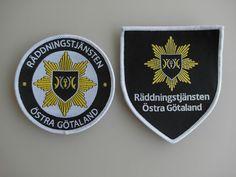 Patch Fire Sweden Räddningstjänsten Ostra Gotaland New Original Rarity   | eBay
