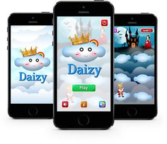 """Game over? No worries, One more new path is waiting for you. Play queen finding game """"Daizy"""""""
